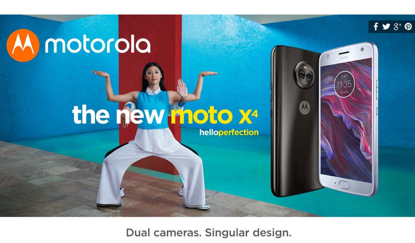 Moto X4 #OnlyOnFlipkart: Experience perfection with the best offers!
