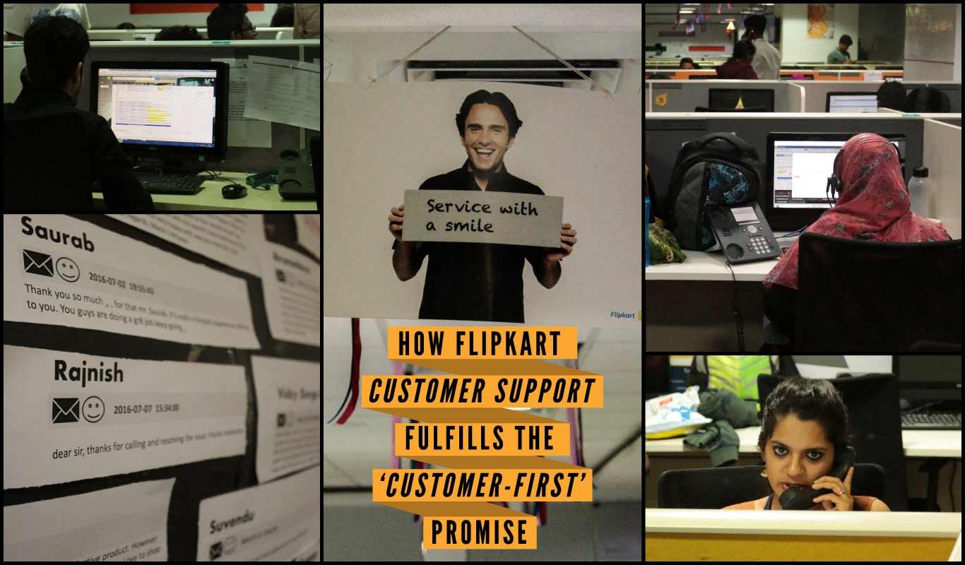How Flipkart Customer Support fulfills the 'customer-first' promise