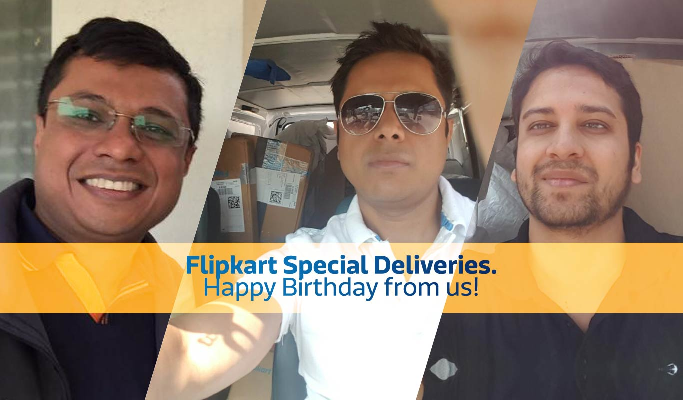 Knock, knock! Who's there? Flipkart Special Deliveries!
