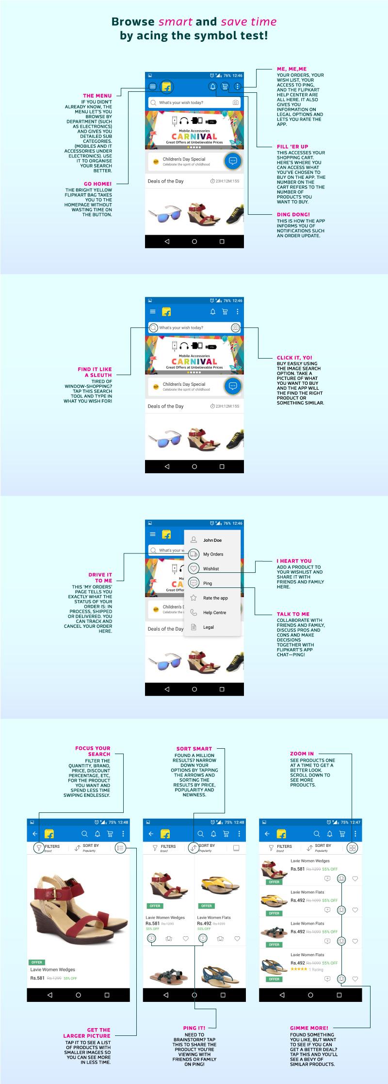 Flipkart app