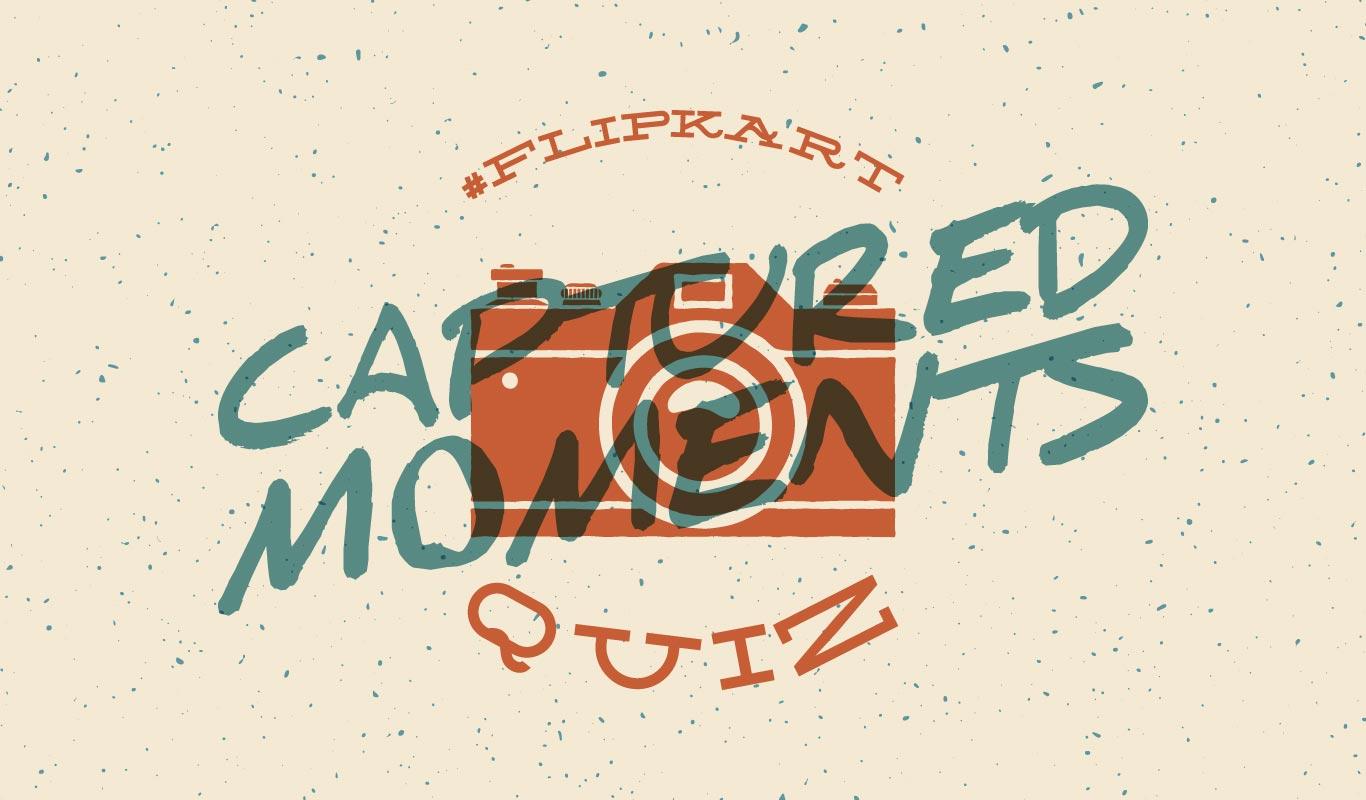 #FlipkartCapturedMomentsQuiz – Look back on Flipkart's 2017 in photos and win big!