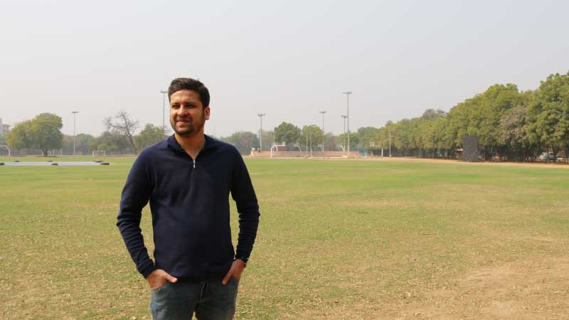 Sachin Bansal and Binny Bansal at Tryst, IIT Delhi