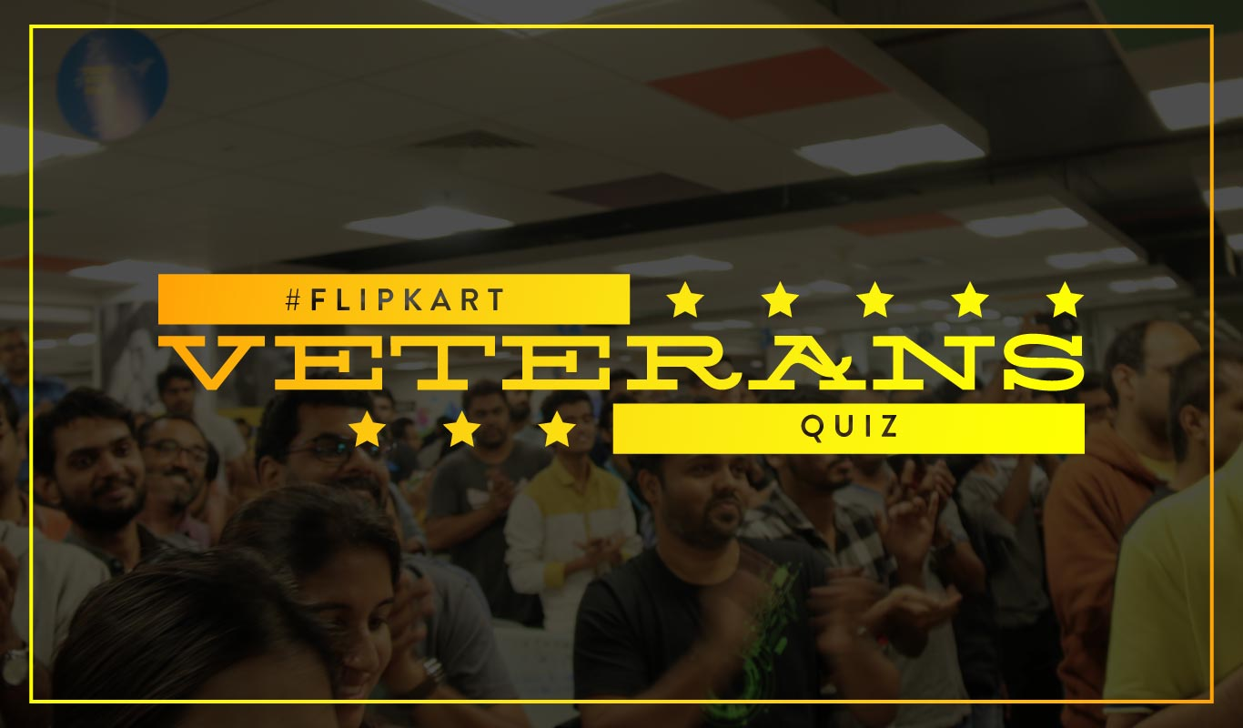 #FlipkartVeteransQuiz – Read all about the Veterans of Flipkart and win big!
