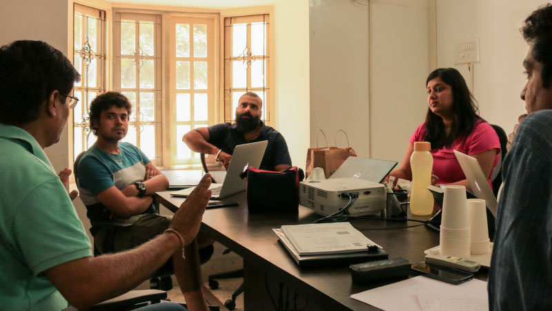 Every now and then, a team occupies the old Flipkart office for some we-time and mindspace. Or maybe it's inspiration?