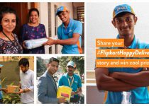 Submit your #FlipkartHappyDelivery story and we'll share it with the world!
