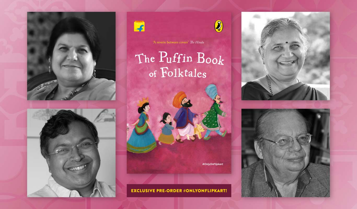 The Puffin Book of Folktales — Pre-order it #OnlyOnFlipkart!