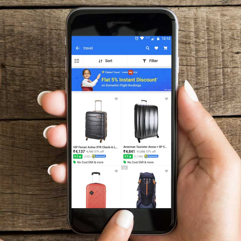 Travel by Flipkart Powered by MakeMyTrip