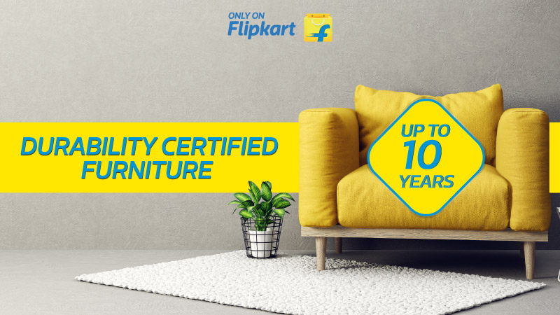 Breaking News: Flipkart launches up-to-10-years durability-certified furniture
