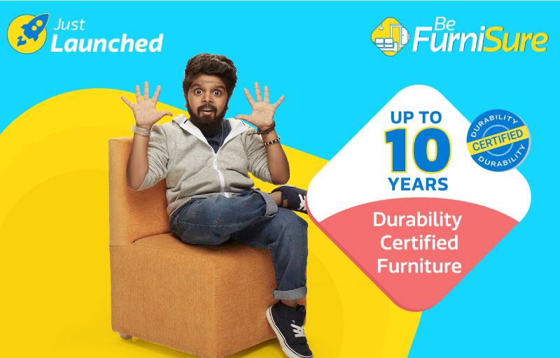 FurniSure - Durability Certified Furniture from Flipkart