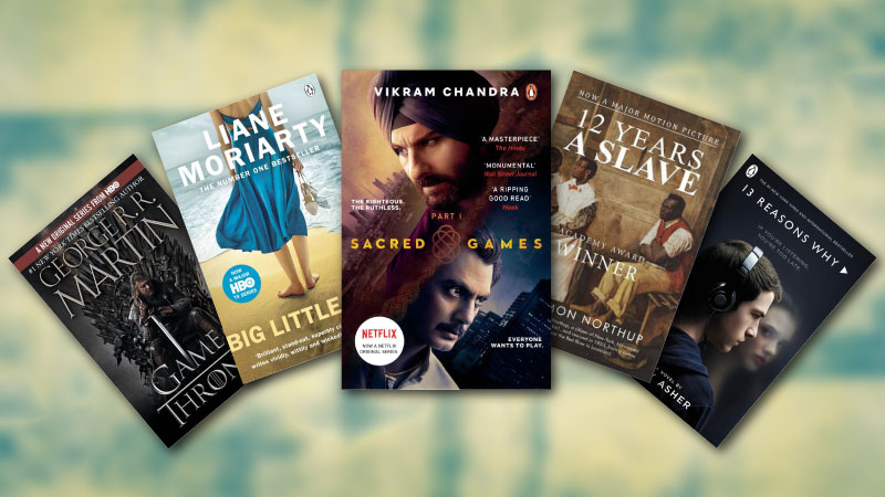 Book adaptations: Your favorite TV series & movies were based on