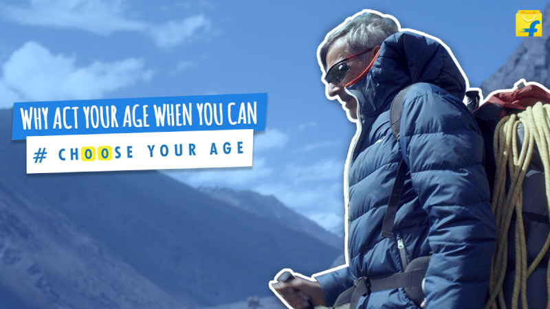Don't act your age, #ChooseYourAge