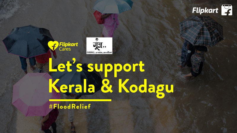Flipkart Cares – Donate to support Kerala Flood Relief