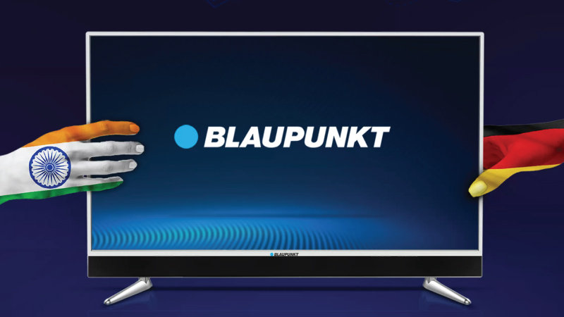Superlative sonics meet spectacular display: Introducing the Blaupunkt TV range