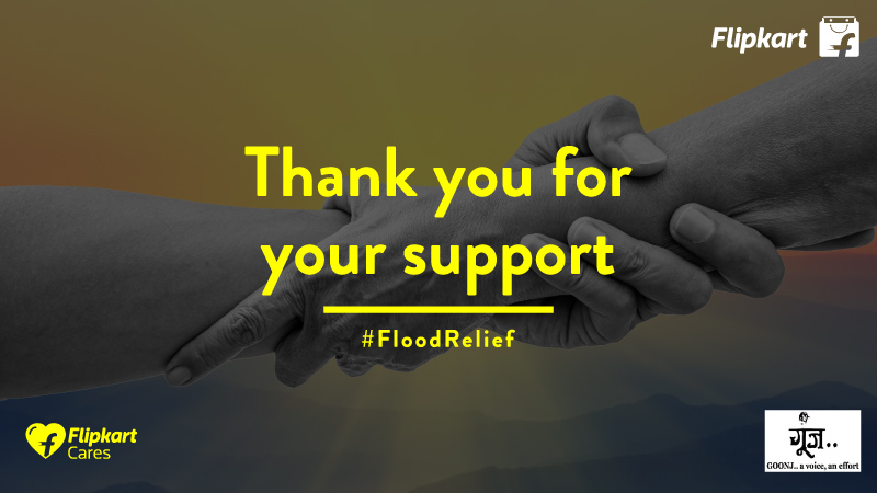 Kerala & Kodagu flood relief: Thank you for your support!