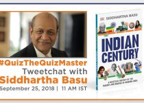 #QuizTheQuizmaster – Tweetchat With Siddhartha Basu, September 25, 2018