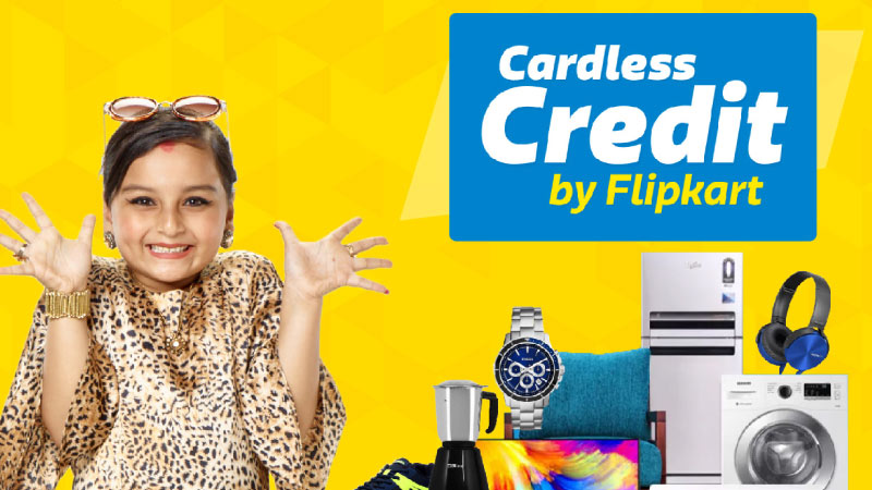Flipkart Cardless Credit — Shop without worrying about your bank balance!