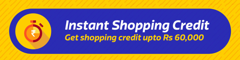 Cardless Credit on Flipkart - Stop worrying about price tags