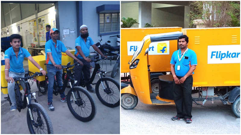 With electric vehicles, Flipkart is making last-mile delivery sustainable in India