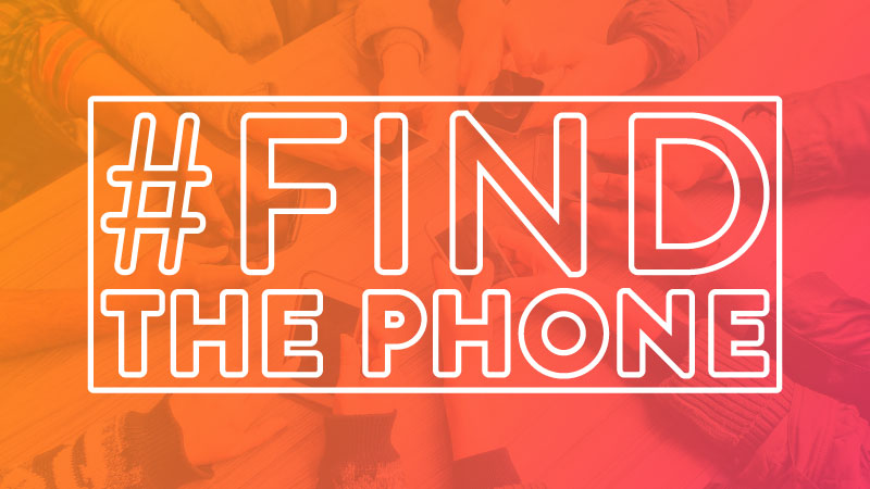 In it to win it! Play the #FindThePhone contest on Facebook