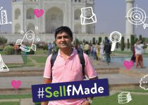 "#SellfMade – From desk job to ""fav"" job, this Flipkart seller did it with a little bit of love and belief"