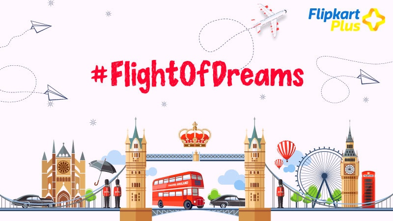 With Flipkart Plus, a few lucky customers are taking off on a #FlightOfDreams