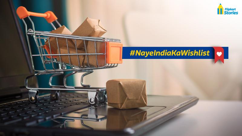 #NayeIndiaKaWishlist – Share your wishlist for The Big Billion Days sale 2019 and win big!