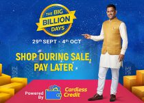 Cardless Credit – This Big Billion Days sale, shop with upto ₹1 Lakh credit and pay later