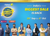 Flipkart's 'The Big Billion Days' kicks off on September 29, 2019