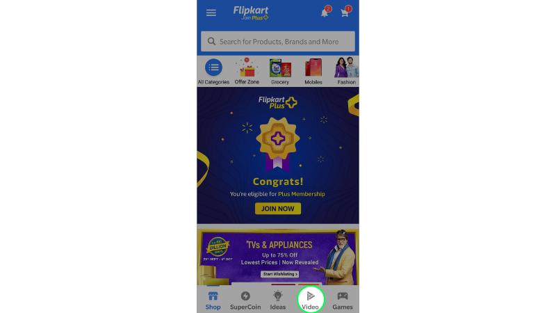 flipkart videos