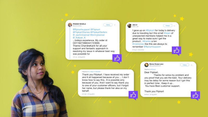 No issue unsolved: How Chandrakanti Nayak is winning Flipkart customers' hearts!