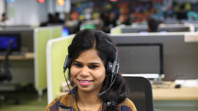 Flipkart customer support executive