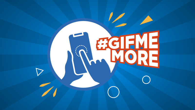 #GifMeMore – Time it right and stand a chance to be a winner!