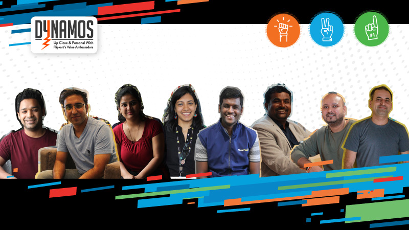 Audacity, Bias-for-Action & Customer First, with integrity: Meet the people who uphold Flipkart's values every day!