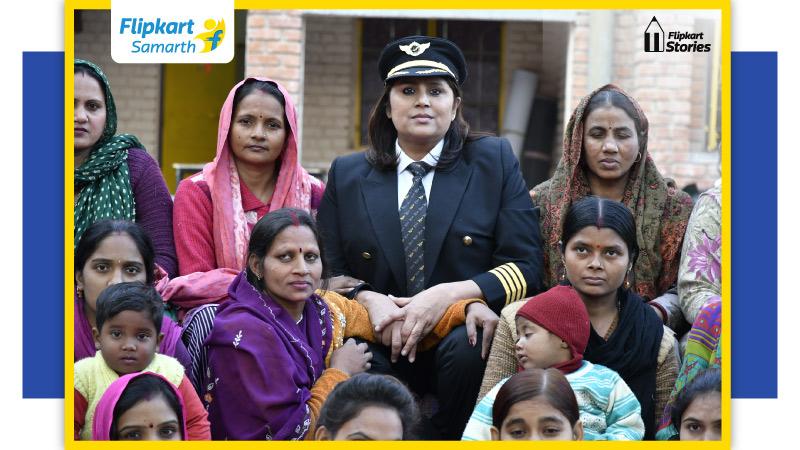 Pilot, changemaker, Flipkart Samarth partner: The incredible story of Captain Indraani Singh