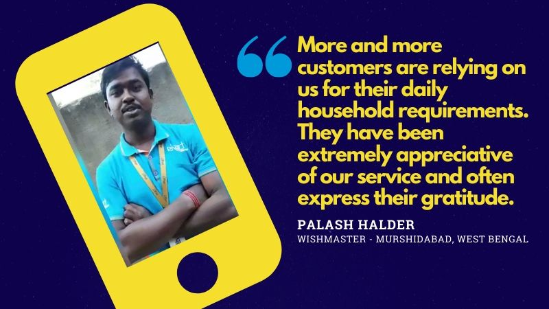 Flipkart wishmasters COVID-19 message