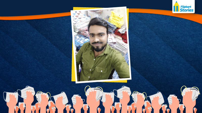 #Sellfmade – How a Flipkart seller sourced a safety essential to help his business & customers