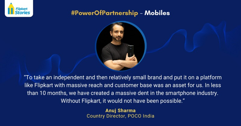 Anuj Sharma, POCO, Mobile Partnership