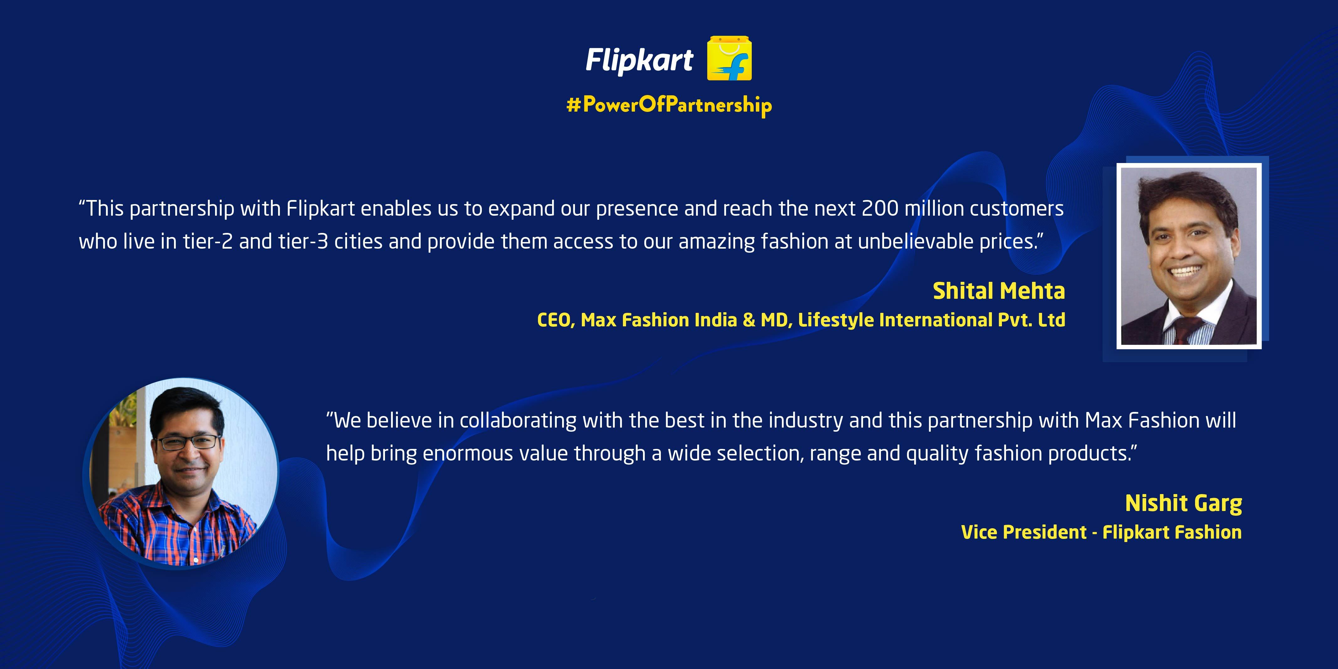 Power Of Partnership - Flipkart Max Brand Partnership for The Big Billion Days 2020