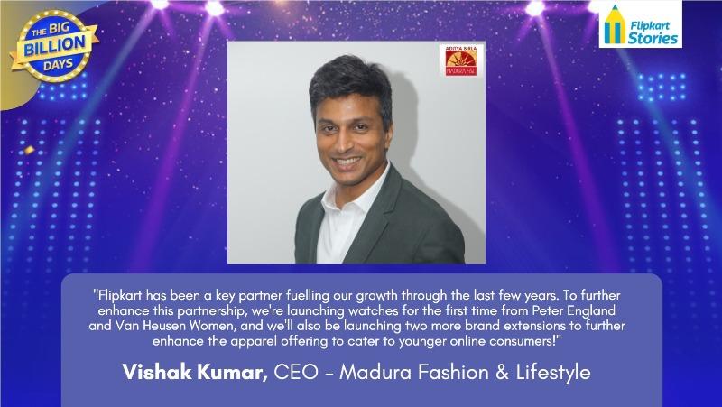 Vishak Kumar Madura Fashion & Lifestyle
