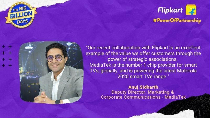 Power Of Partnership - Anuj Sidharth, Media Tek