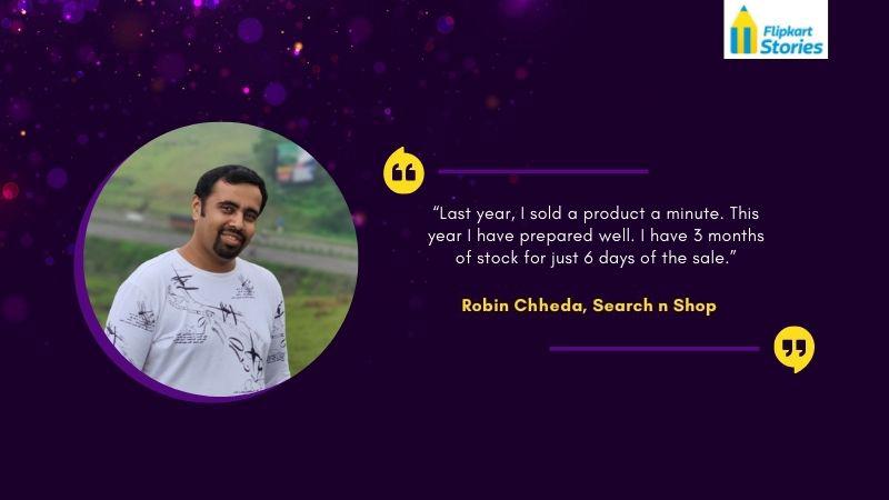 Flipkart Seller Robin Chheda Stories of Sellers
