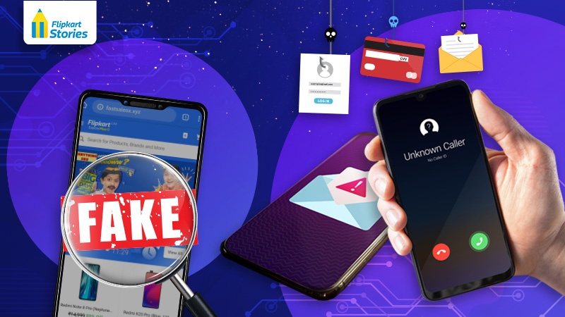 #FightFraudWithFlipkart – Report fake Flipkart messages, ads and websites