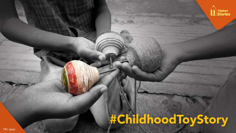 #ContestAlert: Share your #ChildhoodToyStory with us and win a Flipkart Gift Voucher!