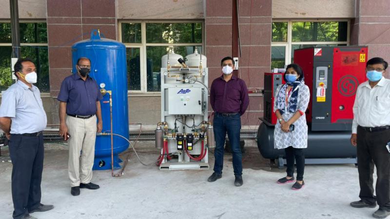 Oxygen COVID Relief Walmart Flipkart