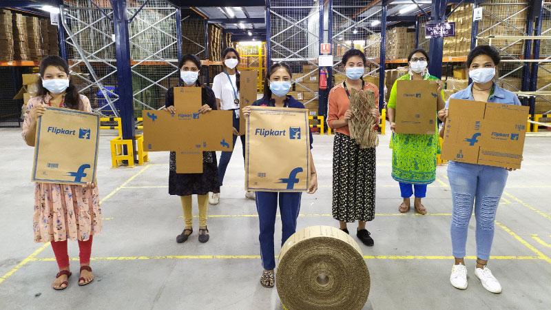 Flipkart's Journey to 100% single-use plastic elimination — a timeline