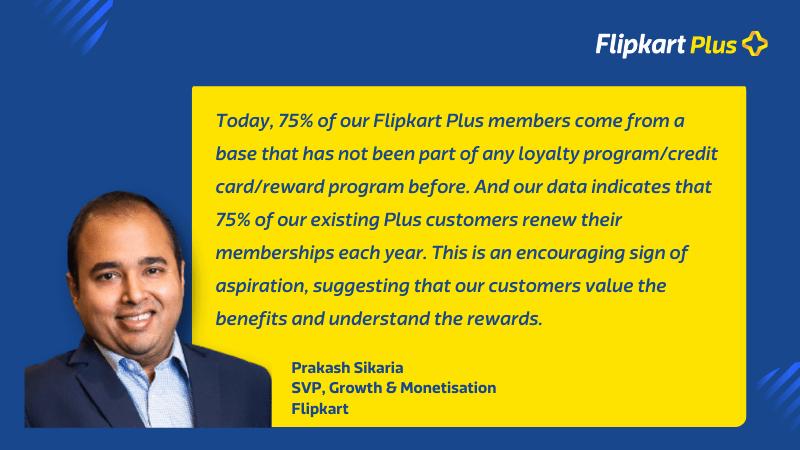 Prakash Sikaria on Loyalty & Rewards with Flipkart Plus