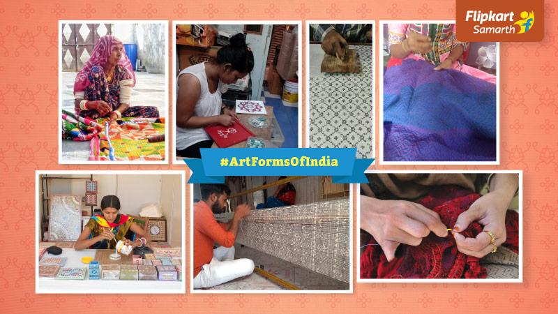 #ArtFormsOfIndia: Garvi Gurjari-Flipkart partnership showcases the best of Gujarat's artisanal heritage