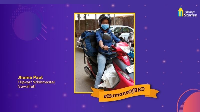 #HumansOfBBD: 'As a Flipkart Kirana partner, I have the freedom & flexibility to earn'