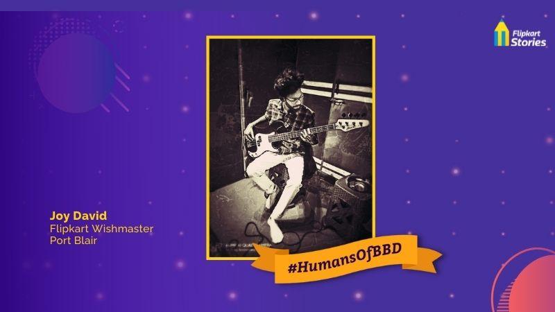 #HumansOfBBD: Student, aspiring rockstar, Flipkart Wishmaster, Joy David is making waves in Andamans