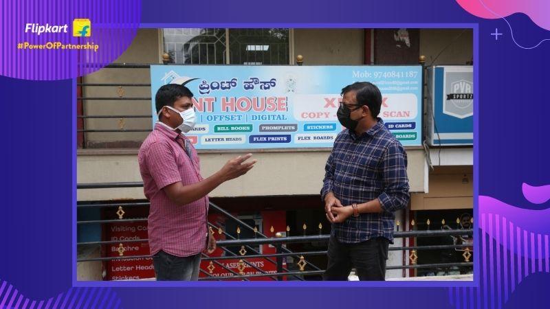 Kirana Connect Flipkart kirana partner kirana program